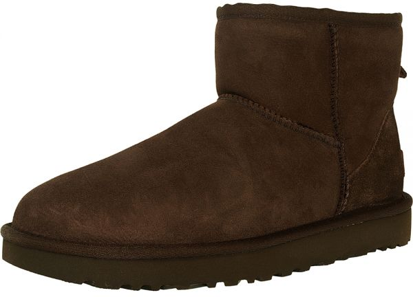 UGG Chocolate Shearling & Snow Boots For Women
