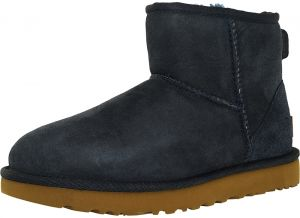 UGG Navy Shearling & Snow Boots For Women