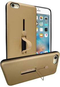 premium selection 4fd0a ec905 Buy xundo back cover for apple iphone 6 plus transparent and gold ...