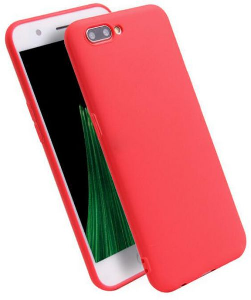 huge selection of 97b41 0975a one plus 5 case oneplus 5 Silicone Soft Protection Back Cover Case - Red