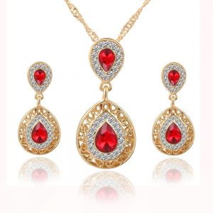Jewelry Sets For Women Necklace And Earrings Jewellery Set