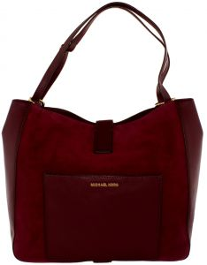 7da69e126c Michael Kors Large Quincy Tote Bag for Women - Leather
