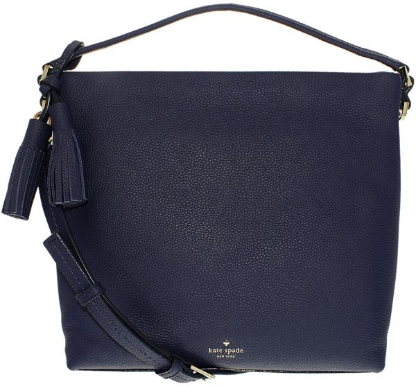 Kate Spade Orchard Street Small Natalya Tote Bag For Women Leather Indigo