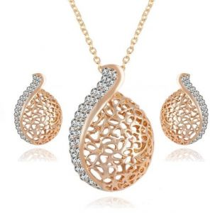 Party Jewelry Sets For Women Necklace And Earrings Jewellery Set