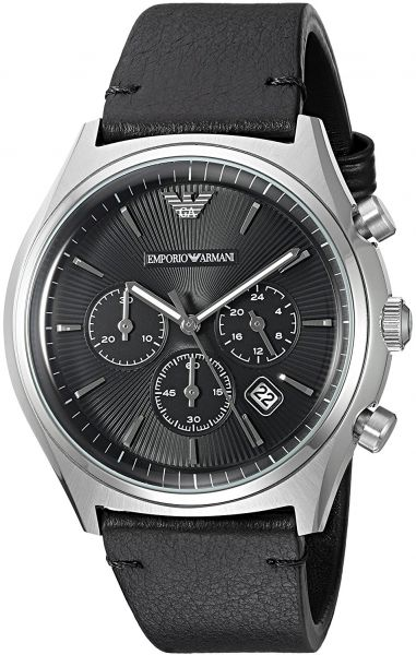 ed3148e2b Emporio Armani Watch for Men - Analog, Leather Strap - AR1975