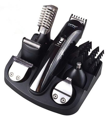 a62c9a241 Kemei 6-In-1 Grooming Kit Hair Trimmer & Clippers & Shaver