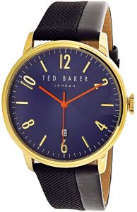 Ted Baker Daniel Men s Blue Dial Leather Band Watch - 10031571 df71a5c314586