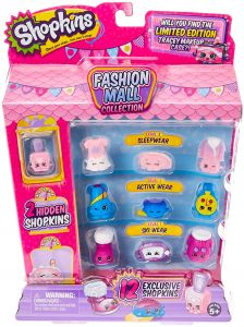 Shopkins Season 6 Fashion Mall Collection With 2 Hidden