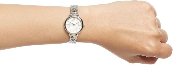 a5b9d6608 Fossil Jacqueline Mini for Women - Casual Stainless Steel Band Watch -  ES3797P