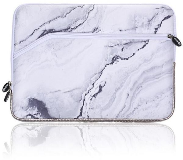 timeless design bfc12 a7971 Laptop Sleeve Case Bag Cover For 13-13.3 Inch Macbook Pro, Macbook Air,  Notebook Computer, Marble Pattern Ww2740