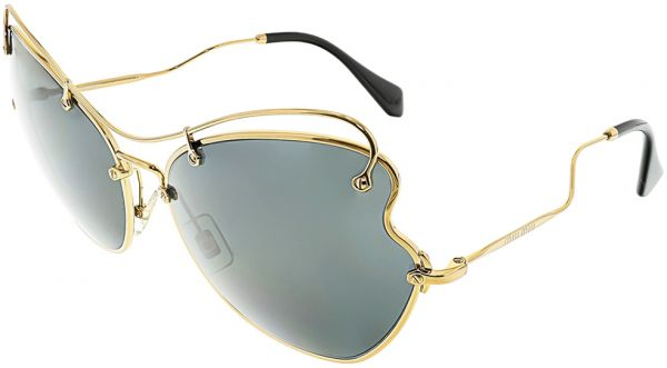 3647a1757a Miu Miu Butterfly Women s Sunglasses - MU56RS-7OE1A1-65 - 65-19-135 mm