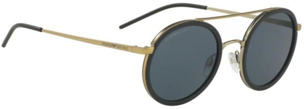 18ff5908f Emporio Armani Round Men's Sunglasses - EA2041-300287-50 - 50-22-145 mm