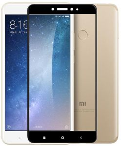 Tempered Glass for Xiaomi Mi Max2 Full Coverage Screen Protector Toughened Glass Film-Black