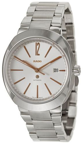 rado Men's Silver Dial Stainless Steel Band Watch - R15329113