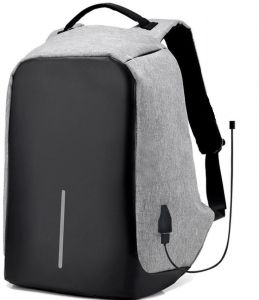 3fe13cf92a61 Waterproof anti theft laptop back bag with USB charger outlet