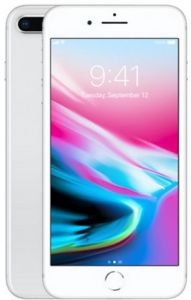 Apple iPhone 8 Plus with FaceTime - 64GB, 4G LTE, Silver
