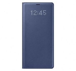 Samsung Galaxy Note 8 LED View Cover Case - Blue