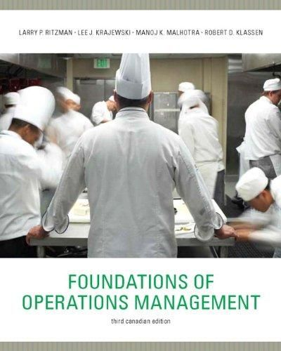 Foundations of Operations Management with MyOMLab ,Ed. :3
