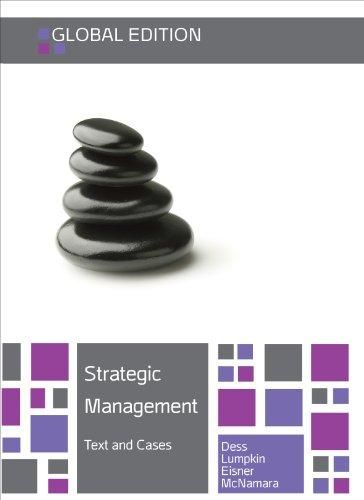Strategic Management: Texts and Cases: Global Edition ,Ed. :7