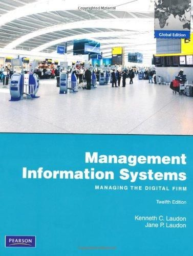Management Information Systems with MyMISLab: Global Edition ,Ed. :12