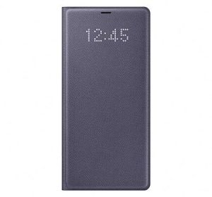 Samsung Galaxy Note 8 LED View Cover Case - Orchid Grey