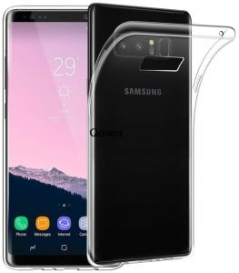 TPU Case for Samsung Galaxy Note 8 DOWIN Ultra Slim Crystal Clear Shock-Absorption, Anti Slip, Scratch Resistant Premium Flexible TPU Silicone Case Cover