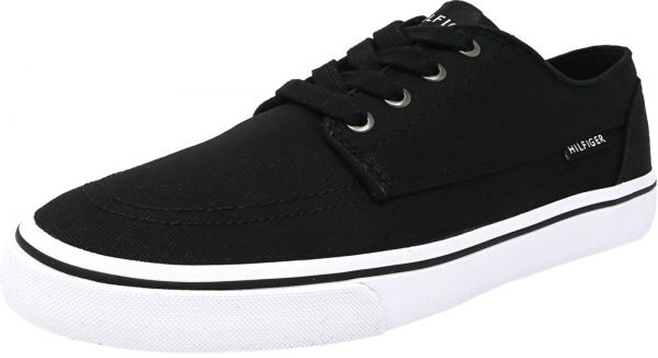 9c2488fc8a6f Tommy Hilfiger Black Fashion Sneakers For Men