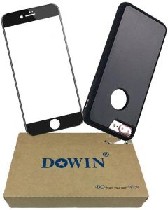 DOWIN 3D Tempered Glass Full Screen Protector With Anti Gravity Magic Selfie Phone Case For Iphone 8 PLUS