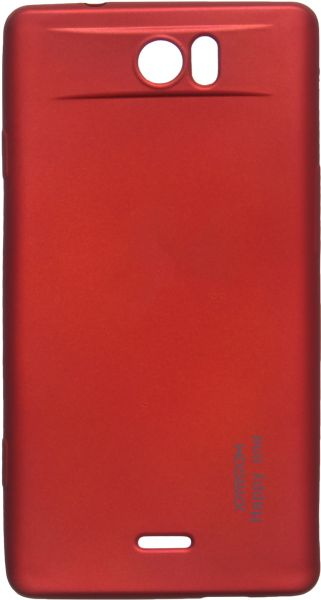 more photos fbfef 6c761 Joyroom Back Cover for Tecno Camon C8, Red