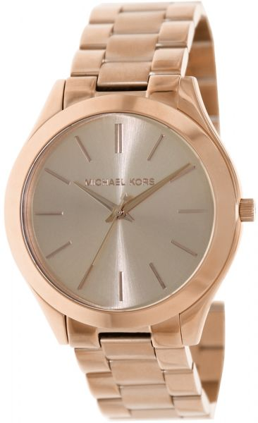 5057c7a7a97c Michael Kors Runway Women s Rose Gold Dial Stainless Steel Band Watch -  MK3197