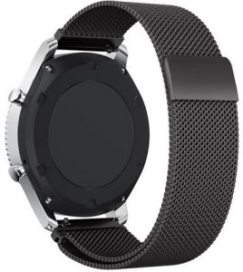 Gear S3 Frontier / Classic Watch Band,22mm Milanese Loop Adjustable Stainless Steel Replacement Strap Bands for Samsung Gear S3 Classic / S3 Frontier Smart ...