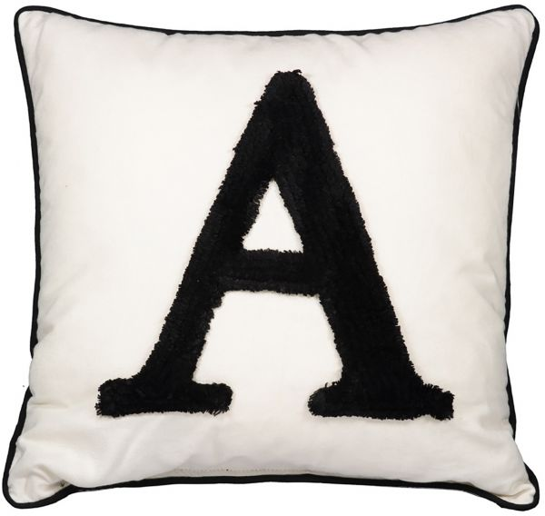 Homeworks Alphabet A Cushion price review and in Kuwait