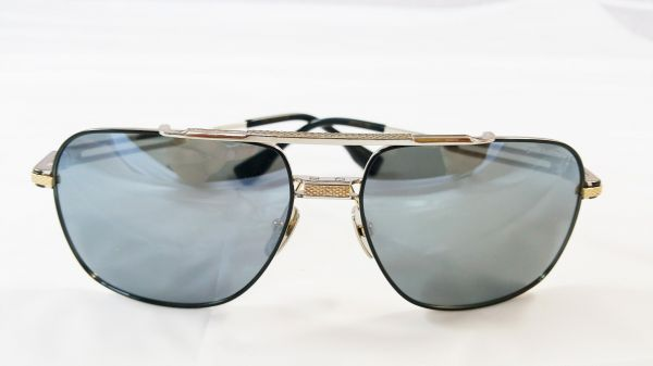 b7e648d7c36 Dita Victoire DRX 2049 Sunglasses with Gold brushed - Black frame ...