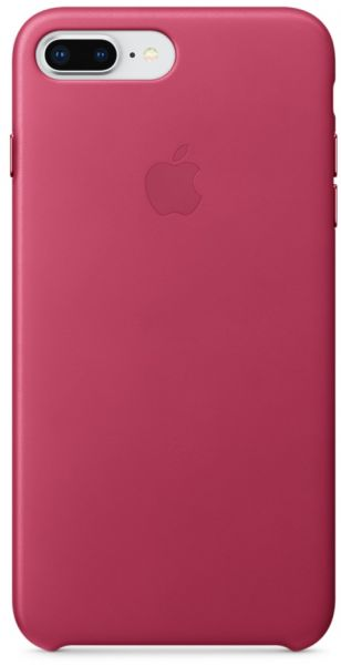 detailed look 2e689 ca438 Apple iPhone 8 Plus / 7 Plus Leather Case - Pink Fuchsia, MQHT2ZM/A