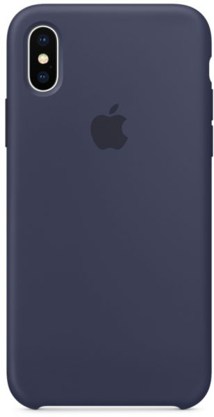 wholesale dealer 05e77 3b2b6 Apple Iphone X Silicone Case- Midnight Blue, Mqt32Zm/A