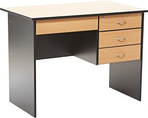office table wood. AFT Cozy Office Table - Cherry Wood