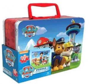 Nickelodeon Paw Patrol Lent Tin With Handle Large Puzzle