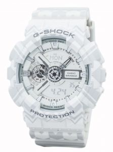 48c879fe981b4 Casio G-Shock Men White Resin Casual Watch - GA-110TP-7ADR
