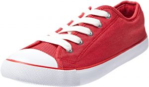 F&F Red Fashion Sneakers For women