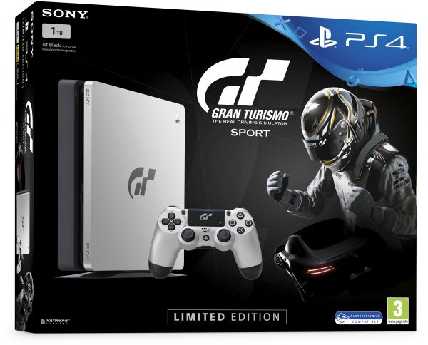 Sony PlayStation 4 1TB With Gran Turismo Sport