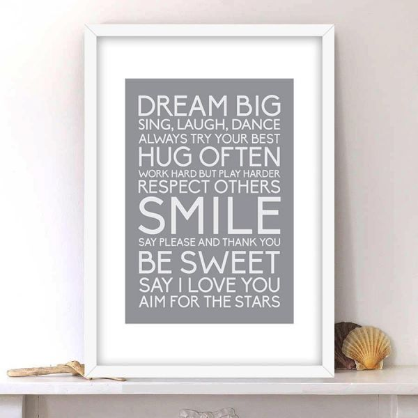 Spoil Your Wall Frames, Quotes Picture Frames, Home Decor, Wall ...