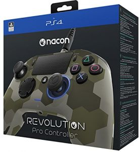 Nacon PS4 Revolution Pro Controller for PlayStation 4, Camo Green