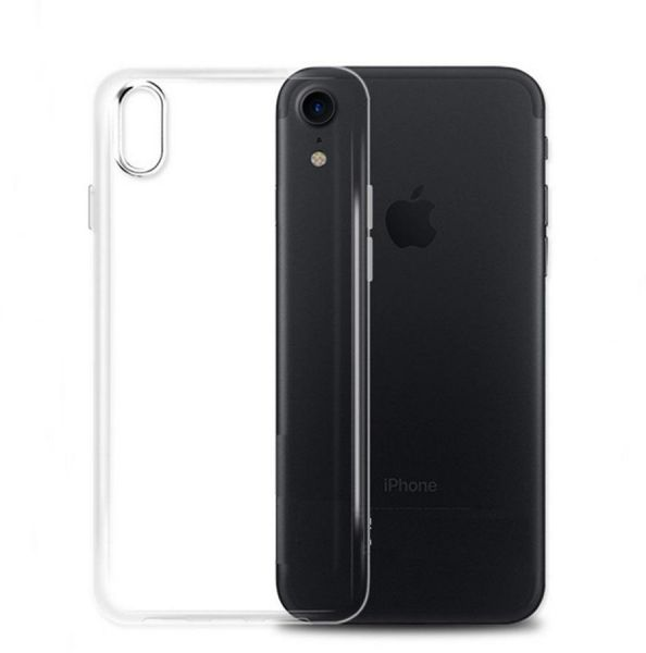 Apple iPhone X Slim Transparent Ultra-Thin TPU Soft Skin Silicone  Protective Case Cover - Clear  ff53d96d29