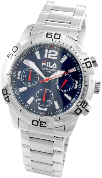 Souq fila casual watch for men analog stainless steel fa0996 oman for Fila watches