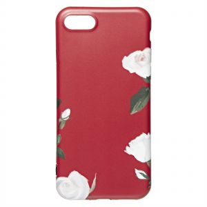 Apple iPhone 7/8 Luxurious Flower Cases for Women in Soft TPU Anti Fall  Protective Sleeve - Pink