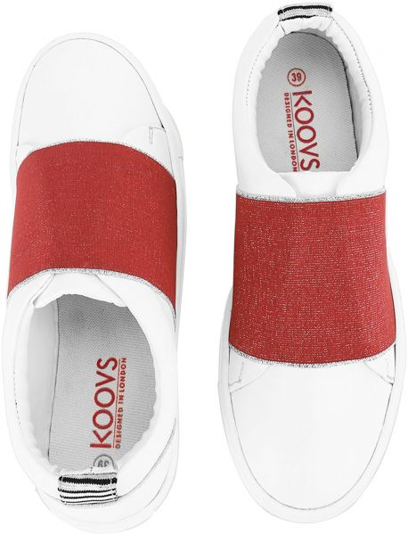 4f353a21acce2 Koovs Multi Color Slip On For Women
