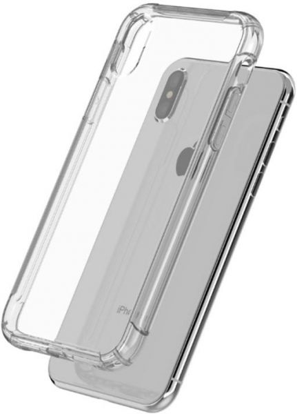 Hanks Unque Design Back Cover for Apple iPhone X - Clear