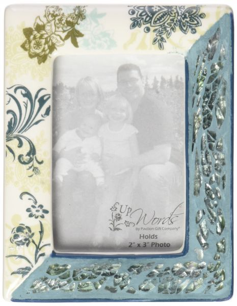 Up Words by Pavilion Photo Frame 7-3/4 by 5-3/4-Inch Green 97725 ...