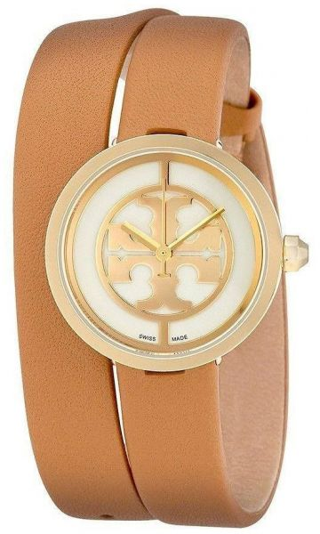 Tory Burch Casual Watch For Women Analog Leather - TB4018