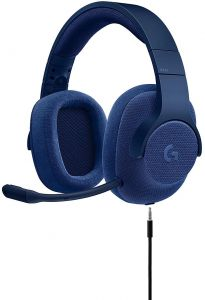 fcc5c37741b Logitech G433 7.1 Wired Gaming Headset with DTS Headphone: X 7.1 Surround  for PC, PS4, PS4 PRO, Xbox One, Xbox One S, Nintendo Switch Royal Blue